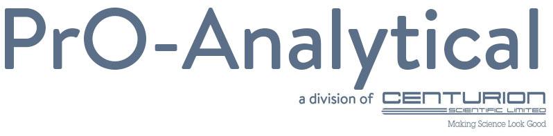 Pro Analytical Centrifuges Logo